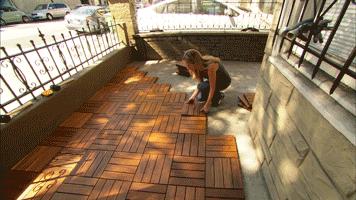 Decking Tiles, Deck Tiles, Wood Deck Tiles, Hardwood Home The Leader In Deck  Tile Innovations