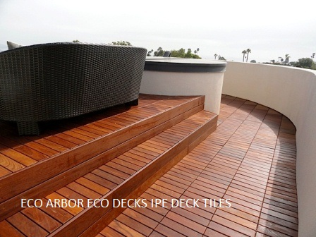 Ipe Decking Tiles Durable Hardwood Tiles For Patios And