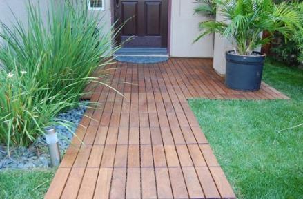 Decking Tiles Deck Wood